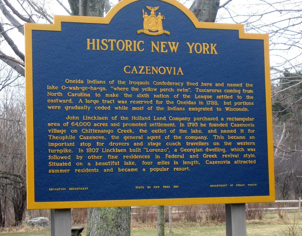 Historic New York - Cazenovia